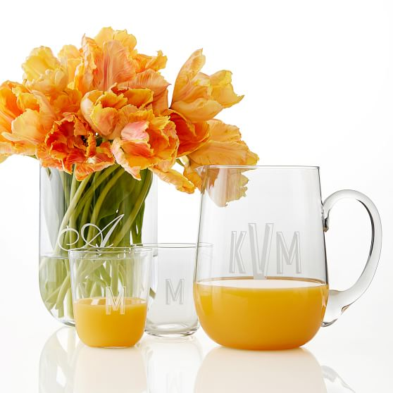 Hand Blown Juice Glasses, Set of 4 | Mark and Graham