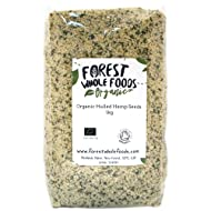 Forest Whole Foods Organic Hulled Hemp Seeds, 1 kg