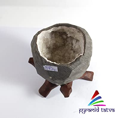 33f46259c chalcedoney pequeño raro cueva peso - 372 mm Chakra Reiki Equilibrio libre  Set de 3 claro cuarzo Raw  Amazon.es  Joyería