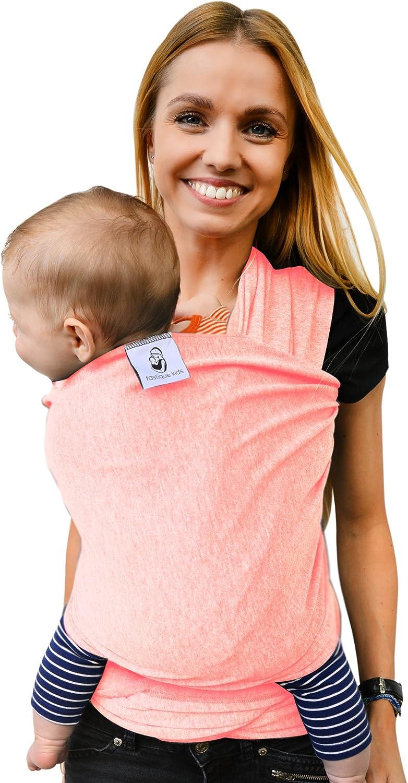 tonga pa/ñuelo portabebe ajustable /»Fastique Kids/« Fular portabeb/és elastico para llevar al beb/é fulares para hombre y mujer