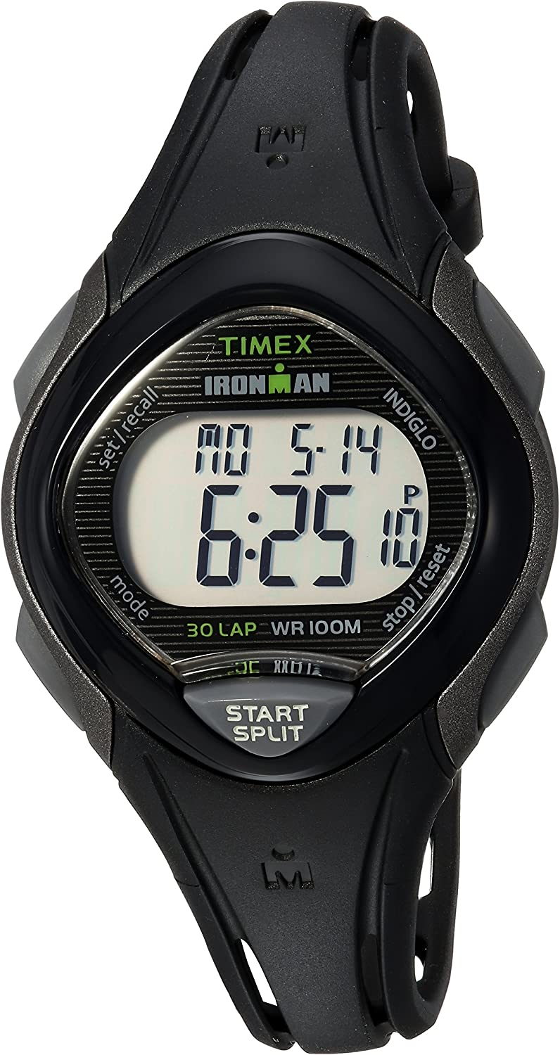 Timex Mid-Size Ironman Sleek 30 Resin Strap Watch