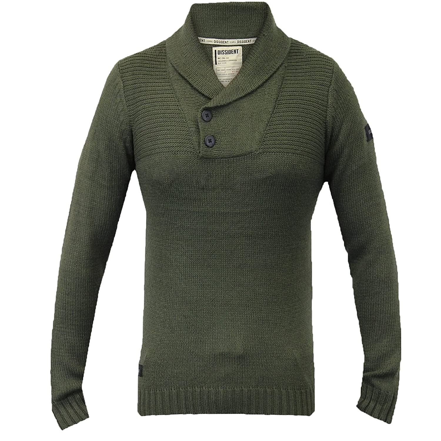 dd642f40bf7 Pull homme dissidant NEUF Top tricoté pull d  Hiver Col Châle pull chaud   Amazon.fr  Vêtements et accessoires