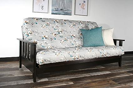 Amazon Com Strata Furniture Canby Black Walnut Full Wall