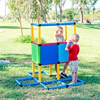 Deals on FunphixToy Life-Size Create Build & Play Structures Set 199 Pc