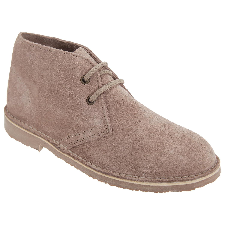 Roamers Damen Desert Boots / Wüstenstiefel / Schuhe, Wildleder (40 EUR) (Blau)