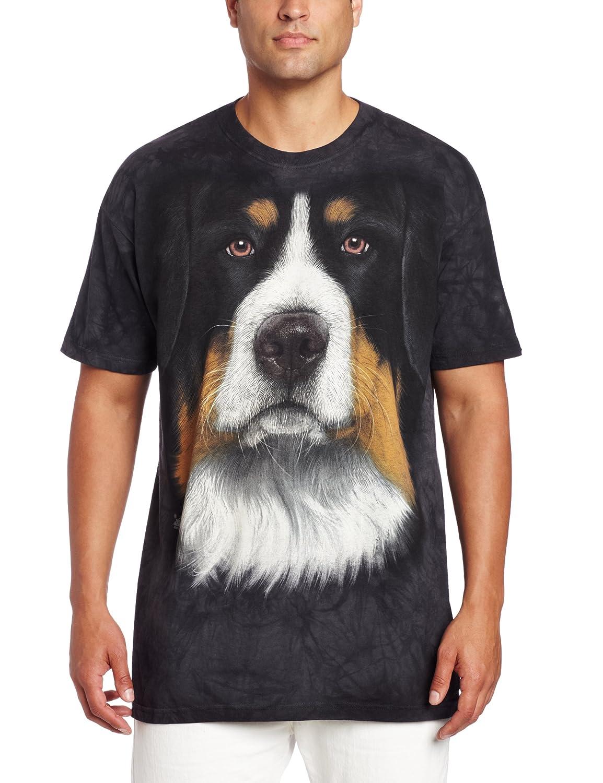 Amazon The Mountain Men s Bernese Dog T Shirt Clothing