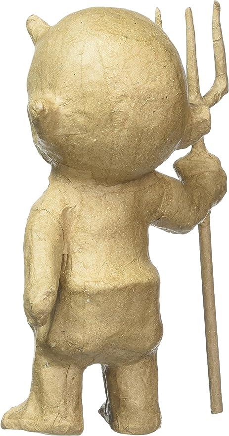 Braun 19/x 18/x 41/cm /Figur Vater Weihnachten Pappmach/é efco PappArt/