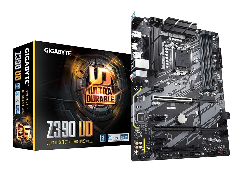 Gigabyte Z390 UD (Intel LGA1151/Z390/ATX/M 2/Realtek ALC887/Realtek 8118  Gaming LAN/HDMI/Gaming Motherboard)