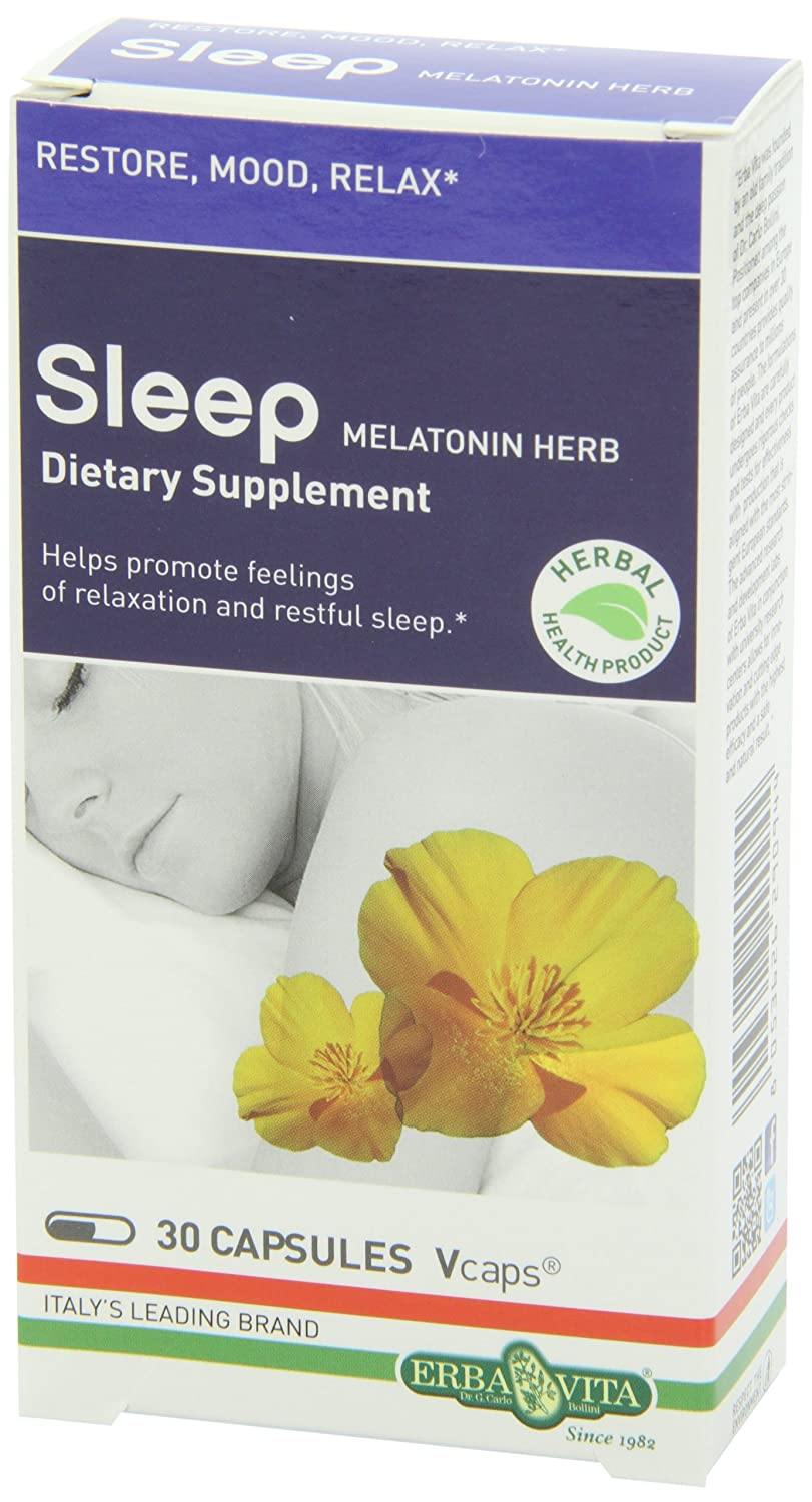 Amazon.com: Erba Vita Sleep Supplements, 30 Count: Health & Personal Care