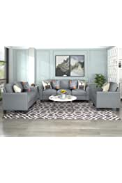 Harper&Bright Designs Sofa Set, Living Room Sofa Set