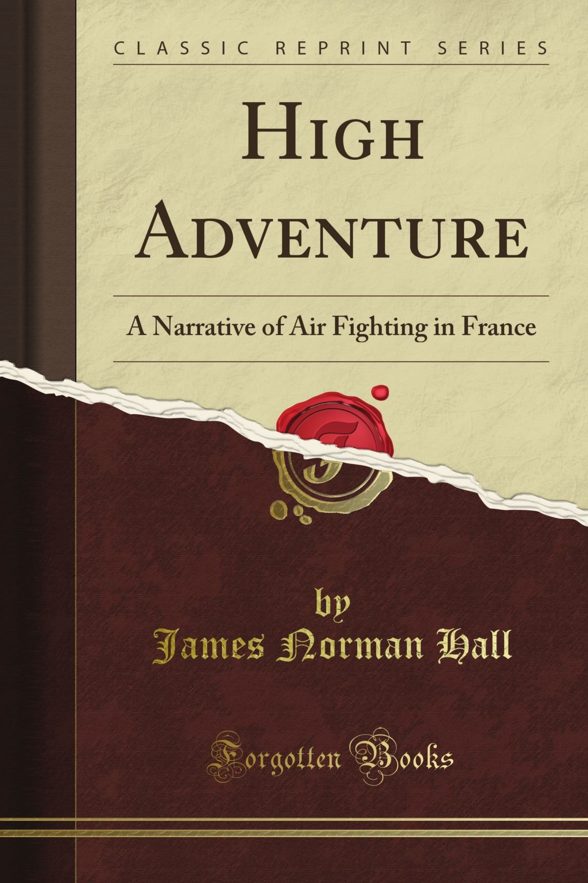 High Adventure: A Narrative of Air Fighting in France (Classic Reprint) PDF