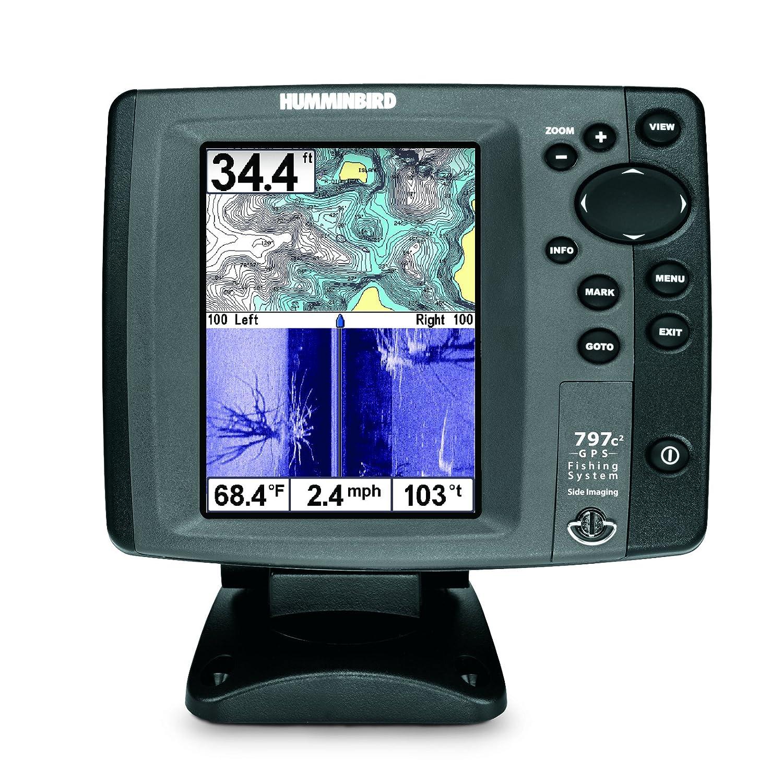 Amazon Humminbird 797c2 SI Combo 5 Inch Waterproof Marine GPS And Chartplotter Navionics Gold HotMaps Premium Charts Pre Loaded Cell Phones