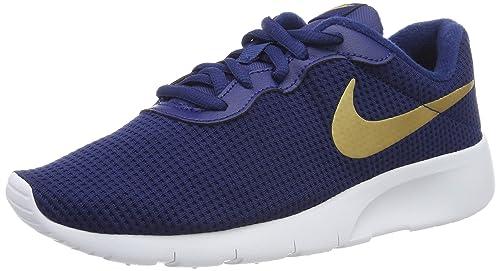 on sale e581f 49399 Nike Tanjun (GS), Scarpe da Fitness Bambino, Multicolore (Blue Void