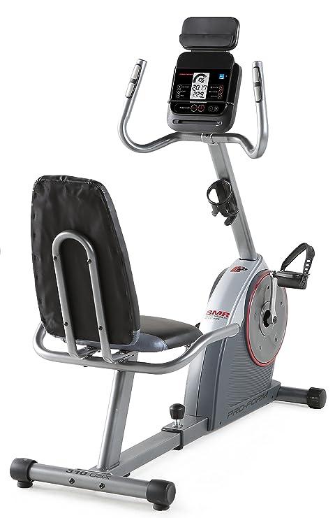 ProForm - Bicicleta Estática Reclinada New 310 CSX: Amazon.es ...