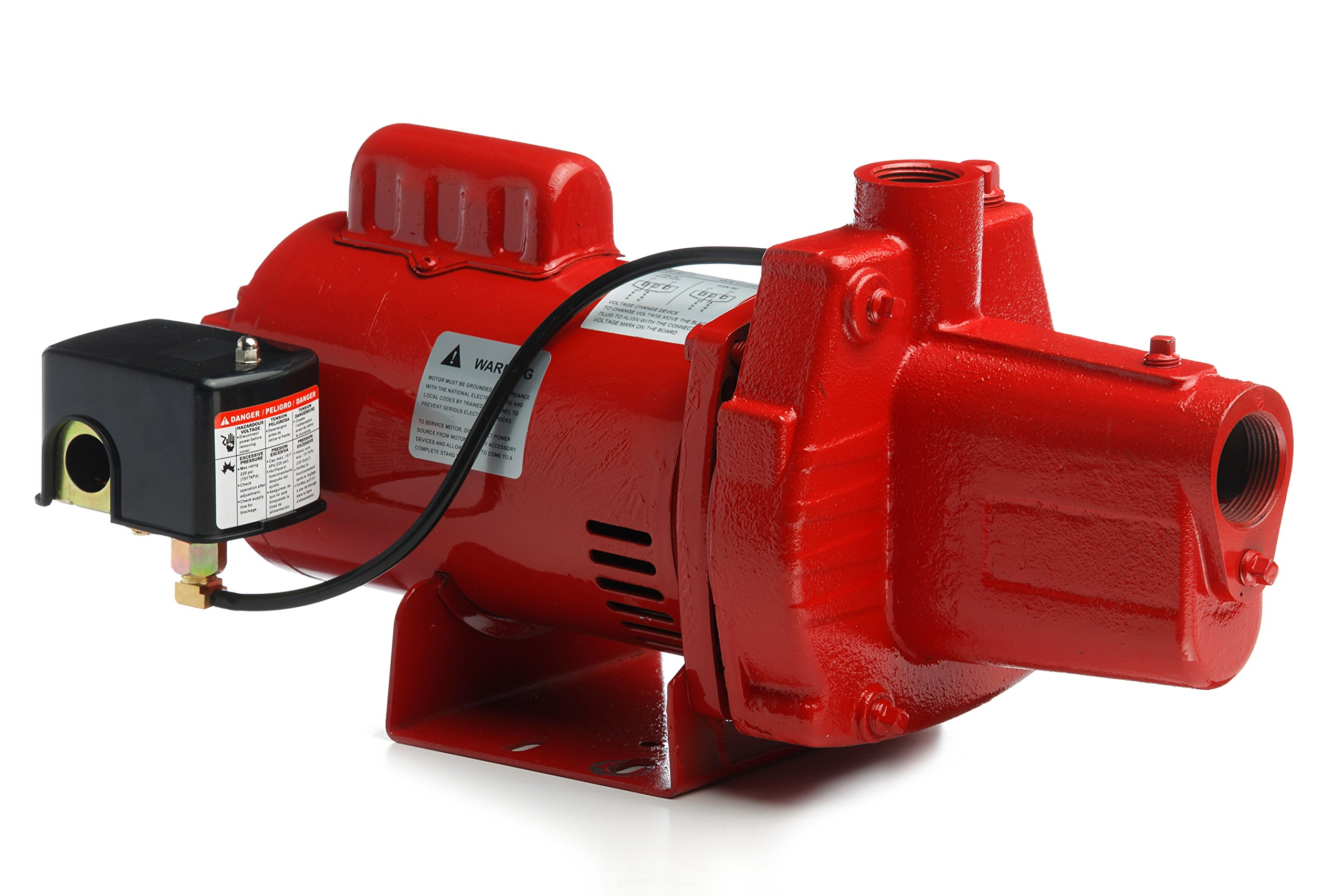Red Lion RJS-50-PREM 602206 Premium Cast Iron Shallow Well Jet Pump by Red Lion