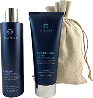 product image for Monat Renew Shampoo and Smoothing Deep Conditioner with FREE Linen Bag Bundle