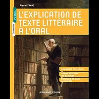 L'explication de texte littéraire à l'oral (Portail)