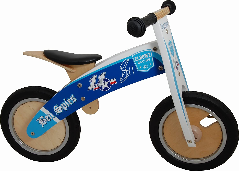 KIDDIMOTO Niños Hero Madera Kurve Equilibrio Bike