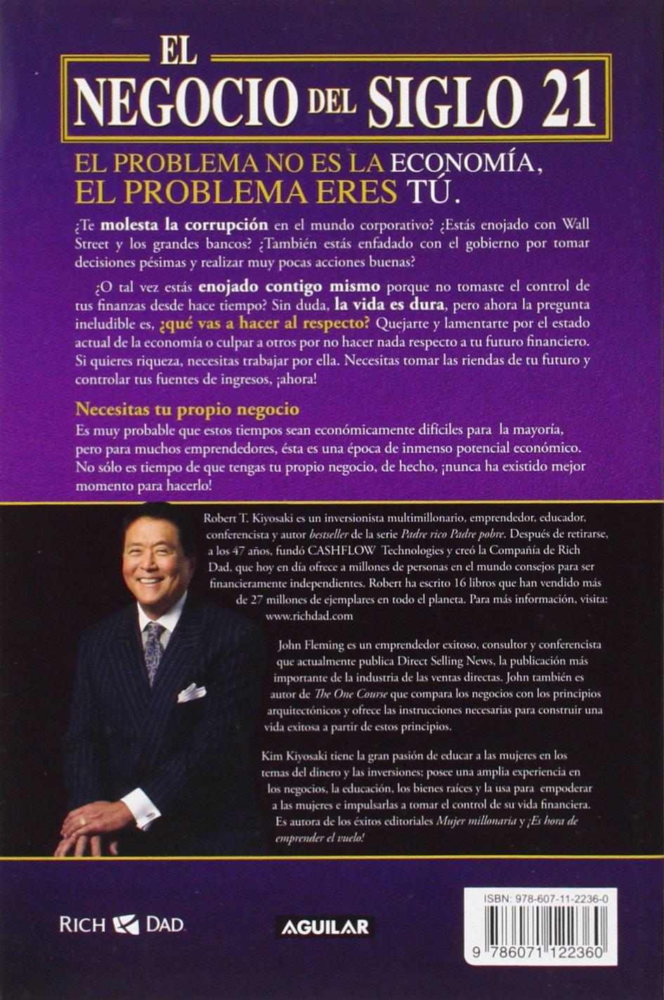 Kiyosaki libro robert pdf escuela de negocios de