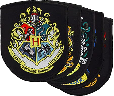 Cinereplicas - Pack de 5 blasones oficiales - Harry Potter: Amazon ...
