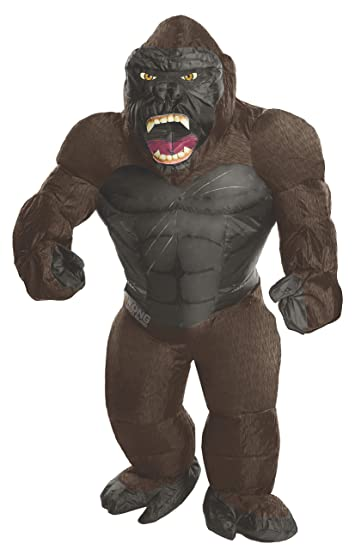 38328f3446d0 Rubie's Costume Co. Men's Skull Island Inflatable King Kong Costume, As  Shown, ...