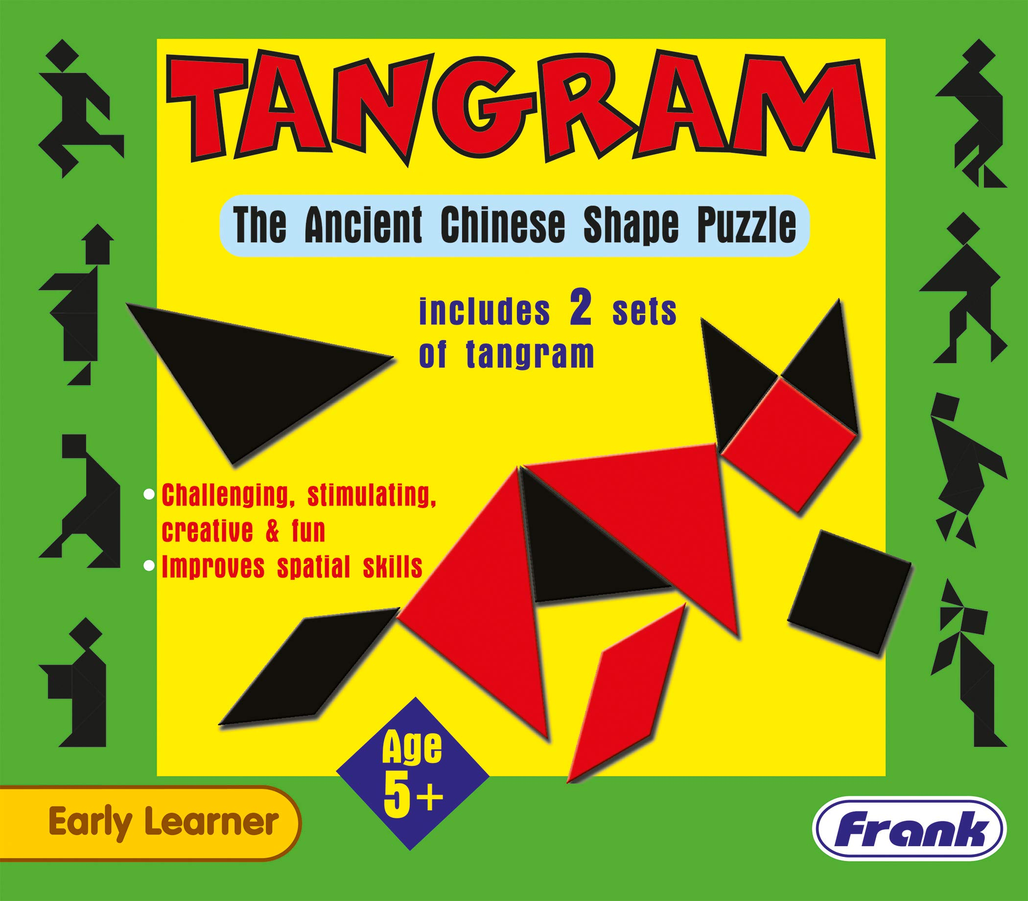 Frank  Tangram Puzzle For 5 Year Old Kids And Above product image