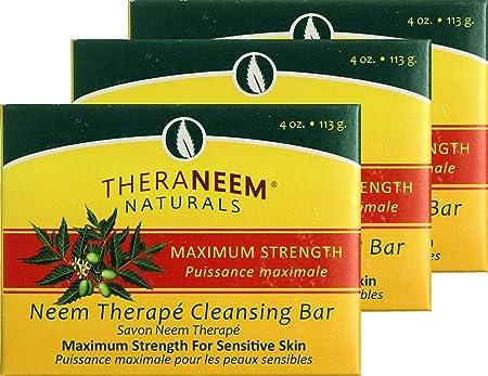 Organix South Maximum Strength Neem Soap Bar 4 oz – Three 3 bars