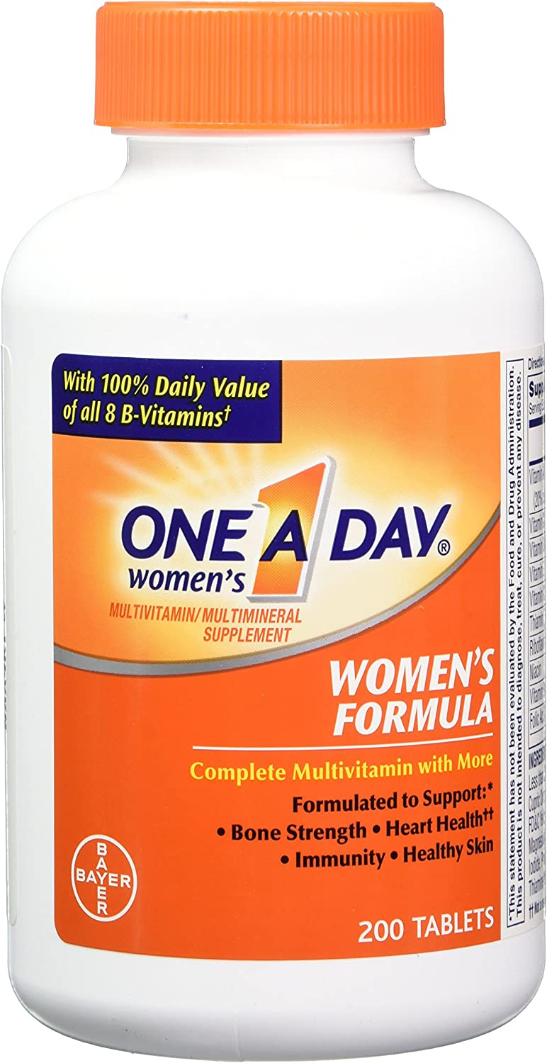 One-A-Day Women s Formula, 200 Tablets Pack of 2
