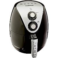 Mondial AF-30 Fritadeira a Ar Family − IV Inox Digital Touch, Capacidade 3,5 Litros, Preto