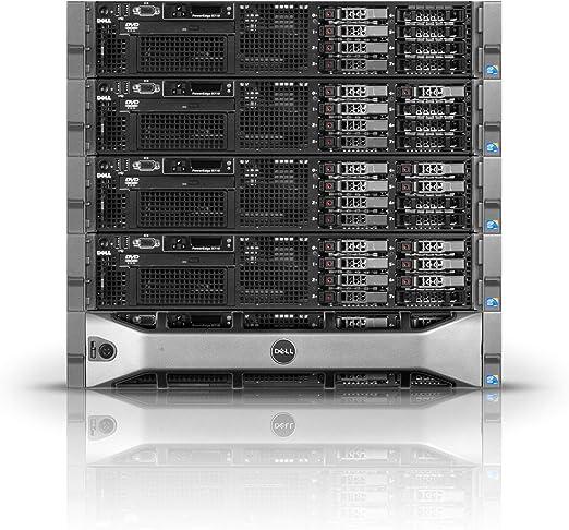 2 x L5640-2.26GHz 6 Core Dell PowerEdge R610 Server 96GB RAM Renewed Perc 6i 6 x 600GB SAS