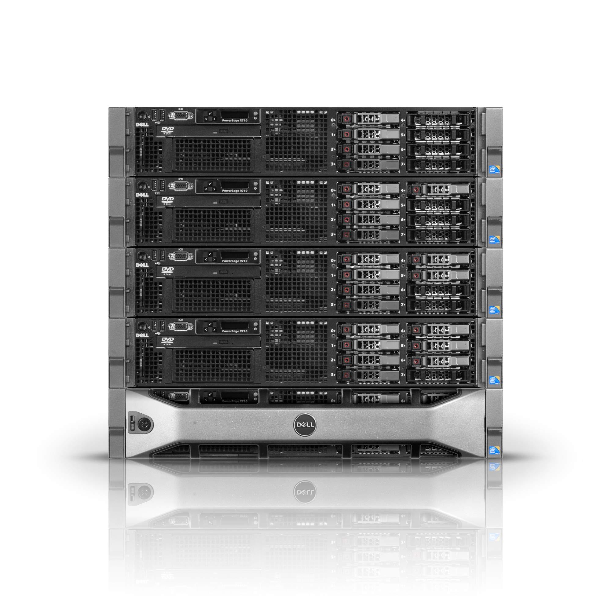 Dell PowerEdge R710 Server | 2X L5520 2.26GHz=Quad Core | 32GB RAM | Perc 6i | 2X 300GB SAS (Renewed)