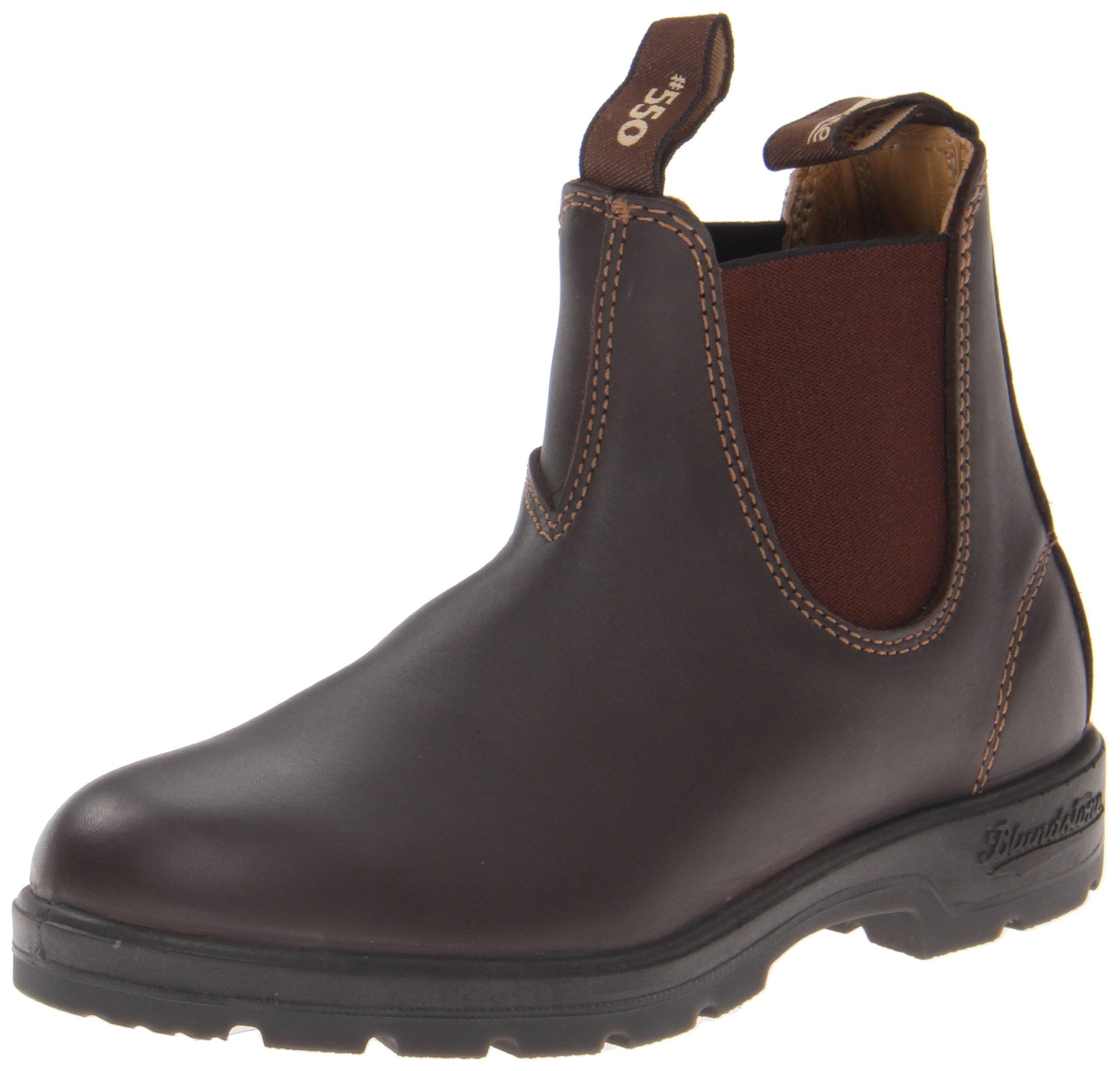 Blundstone Women's Blundstone 550 Rugged Lux Brwn Boot,Walnut,4 AU (US Women's 6.5 M)