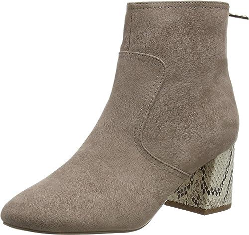 Adda Snake Heel Ankle Boots