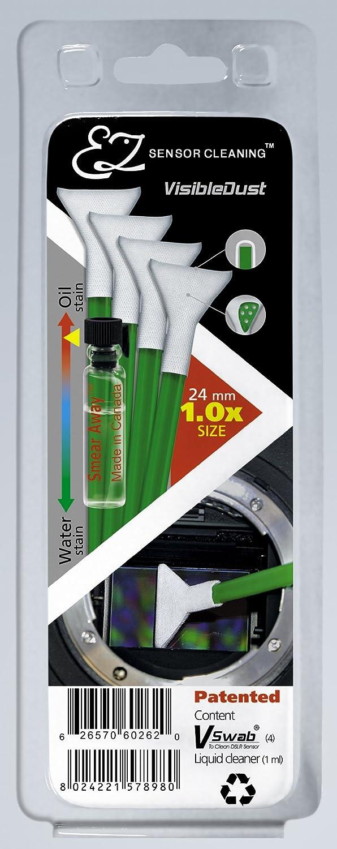 Visible Dust VT 70040 - Pack de limpieza de equipos fotográ ficos, verde VisibleDust VT70040