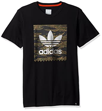 adidas Originals Men s Skateboarding Camo Blackbird Tee at Amazon Men s  Clothing store  a31b527bf940
