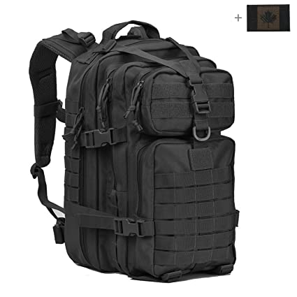 Coolton Military Tactical Backpack Small Assault Pack Army Molle Bug Out Bag Backpacks 34l With