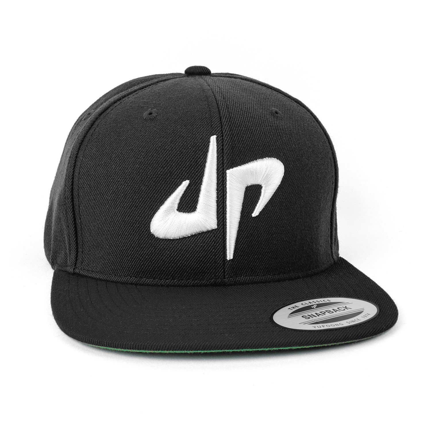 Dude Perfect DP Snapback // Black + White