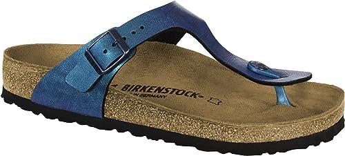 aa52ac6e8eae Birkenstock Gizeh BF Graceful GEMM Blue 39  Amazon.co.uk  Shoes   Bags