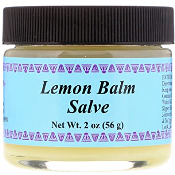Badger - Certified Organic Herbal Lip Balm Stick Tea Tree & Lemon Balm - 0.15 oz.(pack of 12)