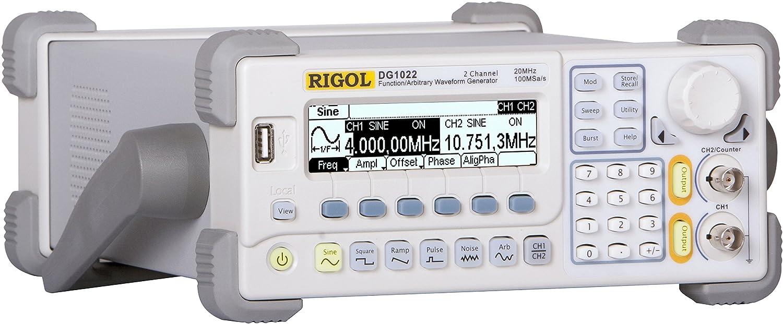 Rigol Dg1022 Channels 2 Frequency Maximum 20 Mhz Science Lab Function Generators Oscilloscopes Industrial Scientific