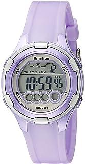 Armitron Sport Womens 45/7053 Digital Resin Strap Watch