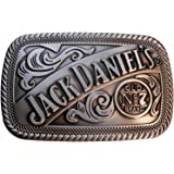 JACK DANIELS Classic Old No. 7 Brand Pewter BELT BUCKLE