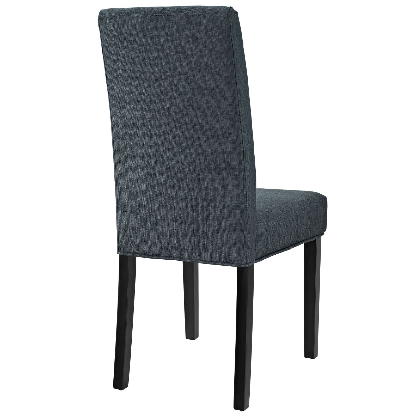 Modway Confer Dining Fabric Side Chair, Gray by Modway (Image #3)