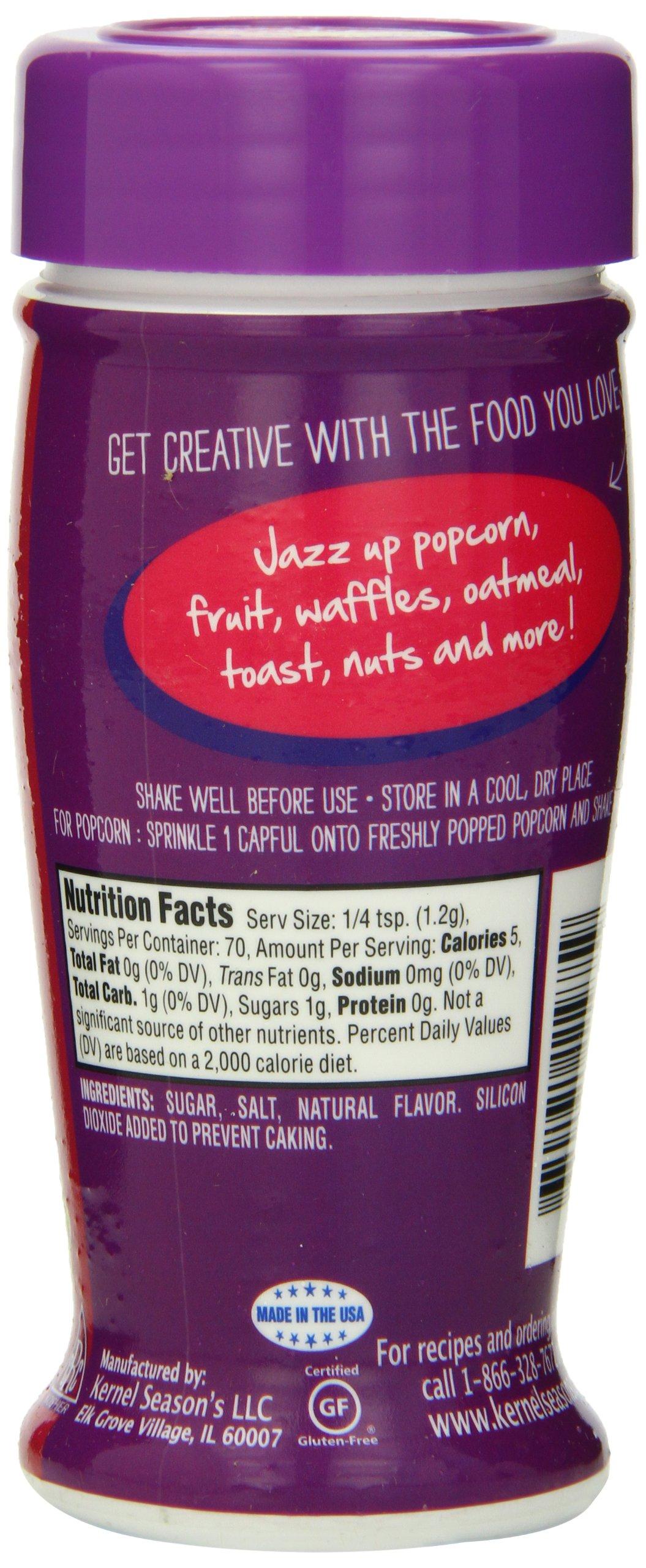 Kernel Season's Popcorn Seasoning, Kettle Corn, 3.0 Ounce (Pack of 6) by Kernel Season's (Image #3)