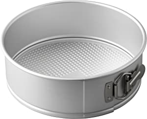 Wilton Aluminum Springform Pan, 9-Inch Round Pan for Cheesecakes and Pizza
