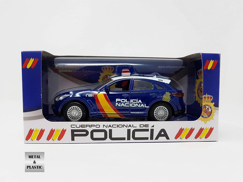 PLAYJOCS GT-0233 Auto P0LICIA Nacional Spanien
