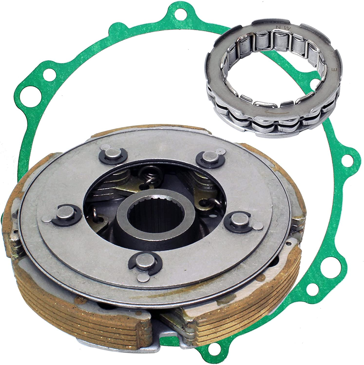 Caltric Wet Clutch Carrier And One Way Bearing for Yamaha Grizzly 450 Yfm450 2007-2014
