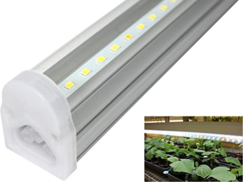 HQRP 660 nm 14W 225 LED Pure Red Grow Light Panel for Growing Flowers Orchids, Bonsai, Hibiscus, Saffrons Hanging Kit