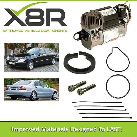 Mercedes clase S W220 Wabco Compresor Suspensión Aire Pistón Anillo Reparar Fix x8r45
