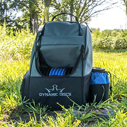 Amazon.com   Dynamic Discs Trooper Disc Golf Bag - Fits Up to 18+ Discs and  Four Putters - Introductory Disc Golf Backpack - Lightweight and Durable ... c7bb959dc0092